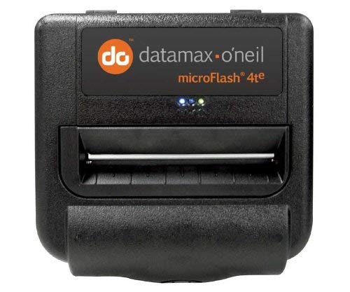 Datamax-O'Neil 200360-100 microFlash 4t Portable Direct Thermal Printer 203 dpi 4 Inch Print Width 25 Inches per Second MF4TE and Bluetooth (Certified Refurbished)