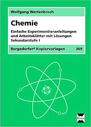 Chemie: Einfache Experimentieranleitungen und Arbeitsblätter mit ...