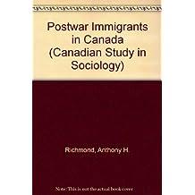 Post-war immigrants in Canada