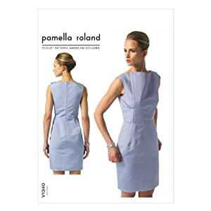 Amazon.com: Vogue Patterns V1340 Misses Dress Sewing Template, Size B5 (8-10-12-14-16): Arts, Crafts & Sewing