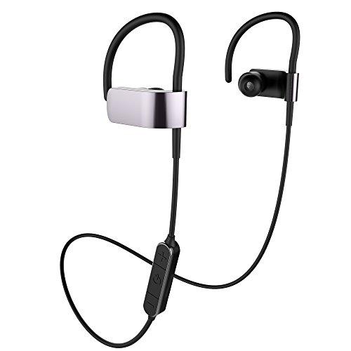 BYZ Sports Bluetooth Earphones Wireless Headset with Super Bass Black