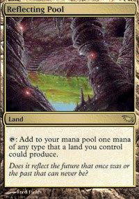 Magic: the Gathering - Reflecting Pool - Shadowmoor - Foil