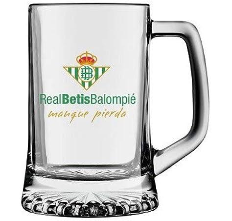 Desconocido Jarra Cerveza Real Betis Balompié: Amazon.es: Deportes y aire libre