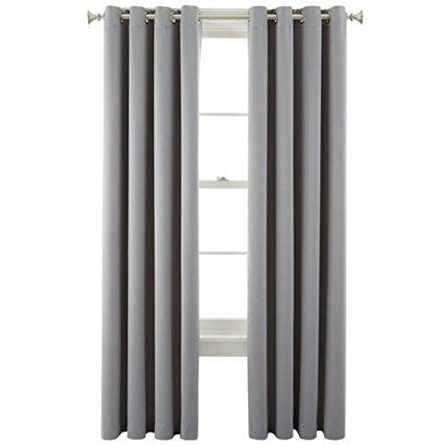 Liz Claiborne Kathryn Room-Darkening Grommet-Top Curtain Panel 50