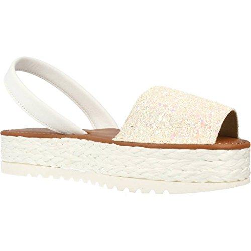 White Brand POPA White for and for Sandals GOSSALBA Women and Slippers Sandals Model MENORQUINAS Colour White Slippers Women qg8xRq