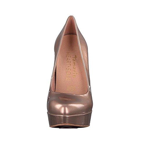 Tamaris 22411-20-901 Hart & Enige Dames Mode Pompen Zachte Brons Exchangeable