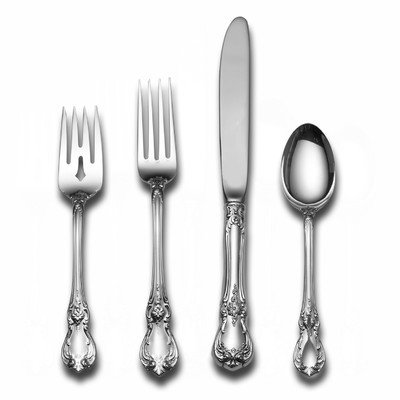 Old Master 5 Piece Place Set with Cream Soup Spoon