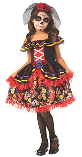 Rubie's Opus Collection Day of The Dead Girl Costume, Small]()