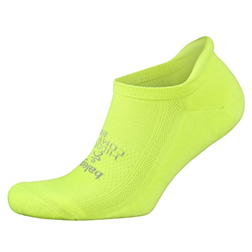 Balega Hidden Comfort Athletic No Show Running Socks for Men and Women with Seamless Toe, (X-Large) - Zest - Top Running Mens