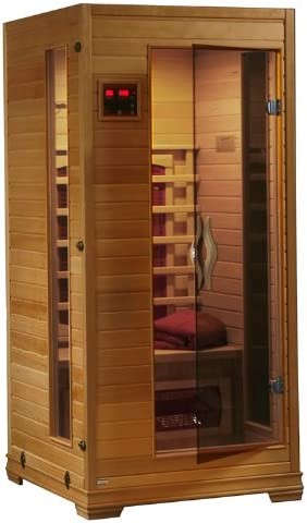Amazon Com One Person Infrared Sauna Home Improvement