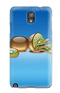 Hot Style QLUtwgc4465FqFGN Protective Case Cover For Galaxynote 3(aqua Kiwi)