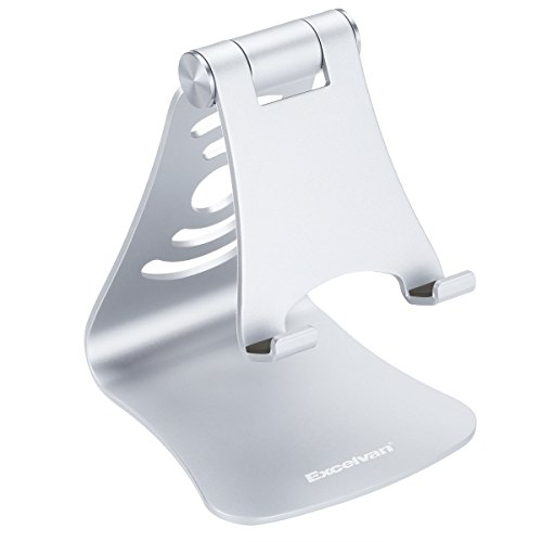 Cell Phone Stand (dan) (silver) by Cell Phone Stand