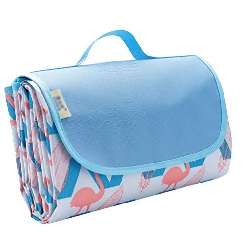 N / A Draagbare opvouwbare picknickdeken, waterbestendige vochtbestendige outdoor camping deken, gazon strandmat met…