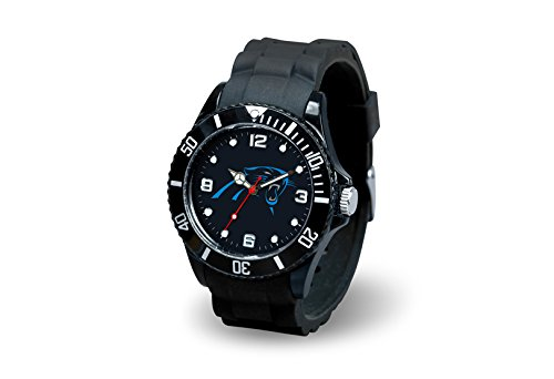 Rico Industries NFL Carolina Panthers Spirit Watch (Watch Sports Panthers)