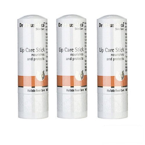 3 PCS Dr. Hauschka Lip Care Stick 4.9g X3 = 14.7g Makeup Lips Lip Balms by Dr. Hauschka