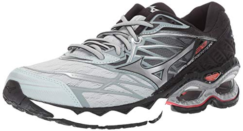 Mizuno Women's Wave Creation 20 Running Shoe, Sky Gray-Silver 8.5 B US ()