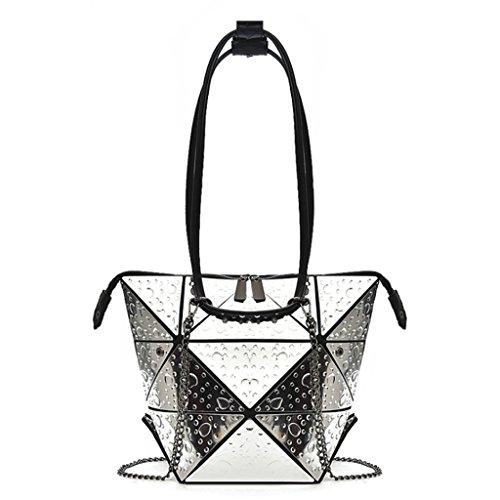 Couleur petit glacé 5 provisions Femmes sac A déformable bandoulière à chaîne sac main sac à Handbag rhombique sac à THCqOcO