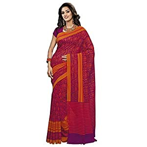 Shilp-Kala Bhagalpuri Silk Printed Multi Colored sarees SKBL2075