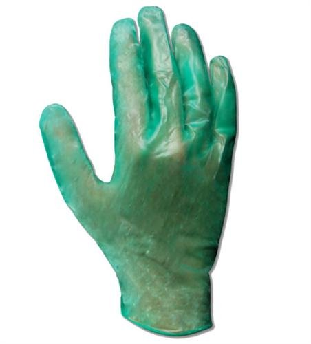 Powdered Disposable Medium 6.5 mil Thickness Magid T5300 EconoWear Vinyl Glove 10 Length Bag of 300 Green