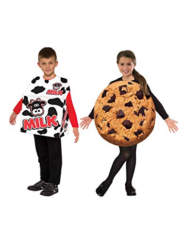 Kid's Milk and Cookie Double Costume Set STD -