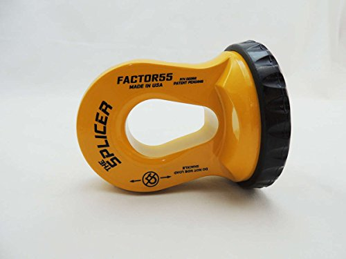 FACTOR 55 The SPLICER Sintetic Rope Shackle Mount (Safety - Safety Shackle