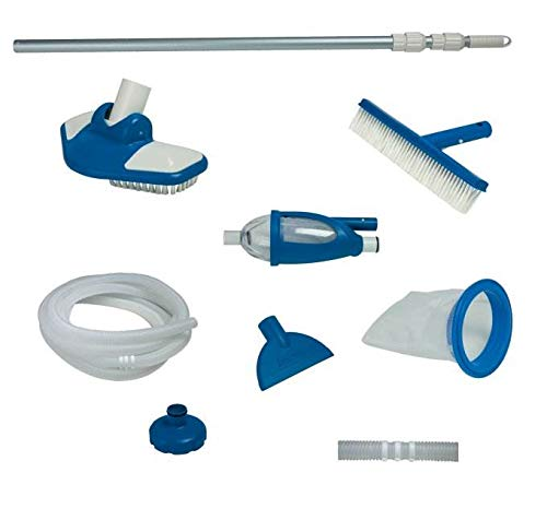 Intex FBA_28003E Deluxe Maintenance Kit for Above Ground Pools, 1, Blue