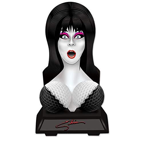 Elvira Bust Centerpiece Mistress of The Dark Decoration Vampire Birthday Party