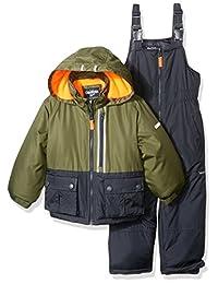 OshKosh boys Little Boys Green Boys Hw Snowsuit B217es91