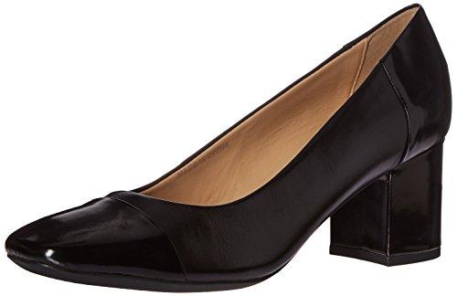 Zapatos modelo Negro Tac�n Negro De color marca GEOX de SYMPHONY tac�n Zapatos GEOX NEW Negro MID D wFqU0xT
