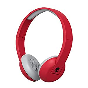 Skullcandy Uproar Wireless 2016 Bluetooth On-Ear Headphoners Compatible with Smartphones, Tablets and MP3 Devices - Red/Black (IllFamed)