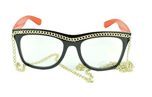 Belle Donne - Womens Fashion Hot Celebrity Style Gold Chain Sunglasses- - Celebrities Chloe Sunglasses