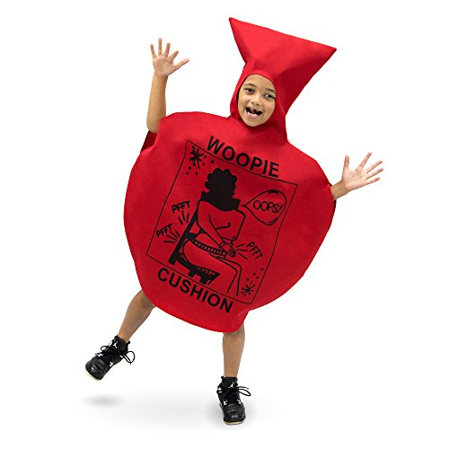 Kids Halloween Costumes Funny (Woopie Cushion Children's Halloween Dress Up Theme Party Roleplay & Cosplay Costume (Youth X-Large (10-12)))