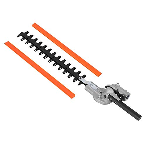 Delaman Hedge Trimmer 7 Teeth 17-1 inch Universal Hedge Trimmer Attachment Expand Double Sided Blades