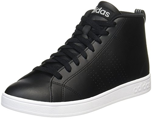 Cl Unisex Mid de Adulto Deporte Black Core Negro Advantage Three Grey Zapatillas Adidas FxY5n5