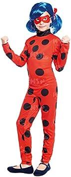 Disfraz Heroína Super Bug Mariquita niña infantil para Carnaval (2-4...