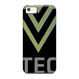 Shock-Absorbing Cell-phone Hard Cover For Iphone 5c With Allow Personal Design Fashion Green Day Pictures CharlesPoirier