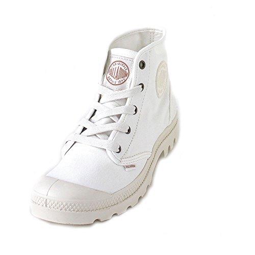 Palladium Womens Pampa Hi Canvas Boots Marshmallow gc6peq
