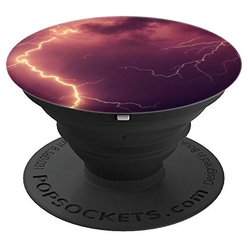 Stormy Night PopSockets Grip Pretty Dark Halloween Accessory - PopSockets Grip and Stand for Phones and Tablets -