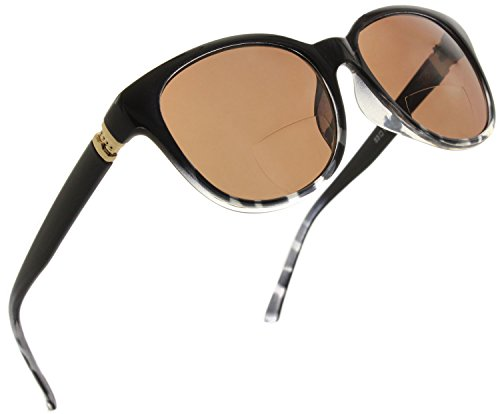 5521782fd9b Womens Bifocal Sun Reader Sunglasses Fashion Trendy Readers Reading Glasses