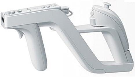 Imagen dePistola Zapper para Nintendo Wii para Insertar el Mando Remote y Nunchuck Color Blanco