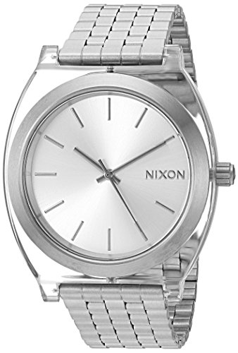 Nixon Women's 'Time Teller Acetate' Quartz Stainless Steel Casual Watch, Color: Silver-Toned (Model: A3272631-00)