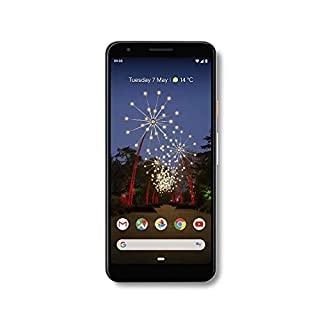 "Google Pixel 3A (2019) G020F 64GB (5.6"" inch, GSM, 4G/LTE, CDMA) Factory Unlocked Smartphone - International Version (Clearly White)"