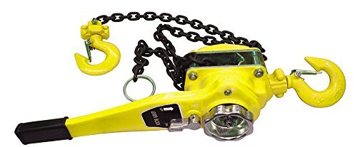ATE Pro. USA 82777 3 Ton Lever Hoist 10' Lift, 8'' Height, 8'' Width, 20.5'' Length by ATE Pro. USA