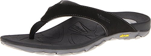 Vionic with Orthaheel Technology Men's Bryce,Black/Grey,US 10 M