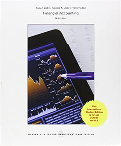 Amazon financial accounting 9e 9781259254123 robert libby amazon financial accounting 9e 9781259254123 robert libby patricia a libby frank hodge books fandeluxe Gallery