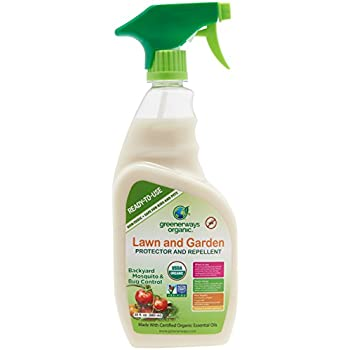 High Quality GREENERWAYS ORGANIC Insecticide Mosquito Repellent, Outdoor Backyard  Repellent Natural Insect Killer, Spray Insecticide, Large Insecticide, USDA  Organic ...