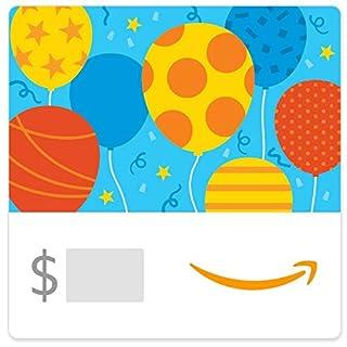 Amazon eGift Card - Birthday Balloons (B07TMMZKBJ) | Amazon price tracker / tracking, Amazon price history charts, Amazon price watches, Amazon price drop alerts