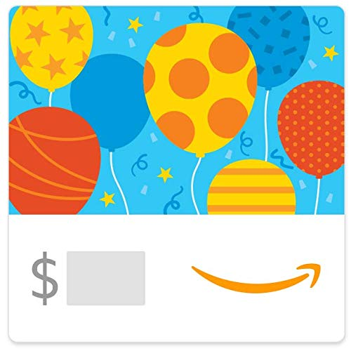 Amazon eGift Card - Birthday Balloons