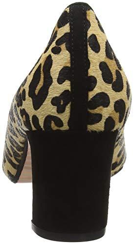 Bout Fermé Leopard Addena Multicolour Dune Escarpins Femme leopard vq8nZ