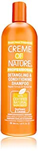 Creme of Nature Detangling Conditioning Shampoofor Normal Hair, Sunflower and Coconut, 20 Ounce